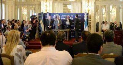 Manzur renovó las autoridades de la SAT y de la Caja Popular de Ahorros