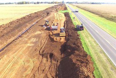Comenzaron los trabajos de la variante de Chacabuco de la Autopista Ruta 7