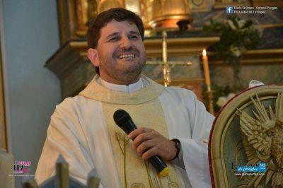 Cómo fue la asunción del dorreguense Fournau al frente de la parroquia de Pringles