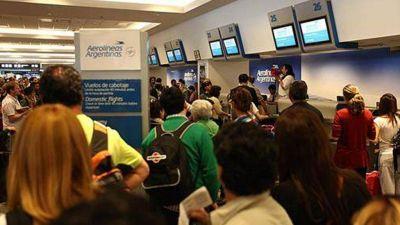 Cancelaron vuelos de Aerolíneas Argentinas por conflicto salarial con los pilotos
