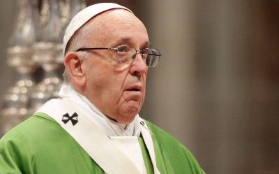 El Papa renovó rezos por tripulantes