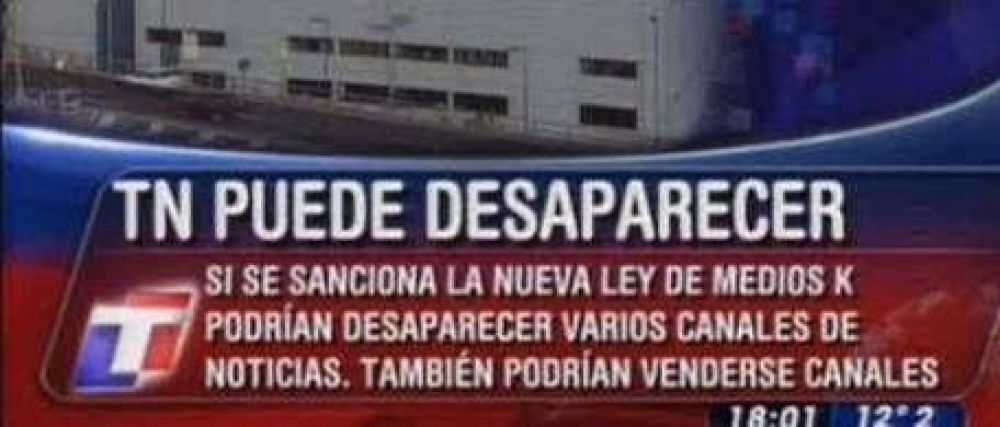 """Mariotto habló de la """"desaparición"""" de TN"""