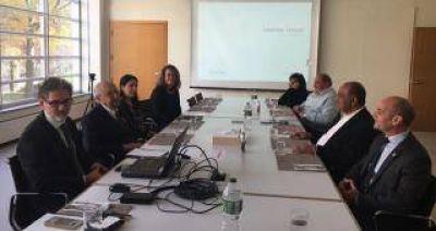 Pelli , con Manzur: ultimaron detalles del Centro Cívico que se construirá en Tafi Viejo