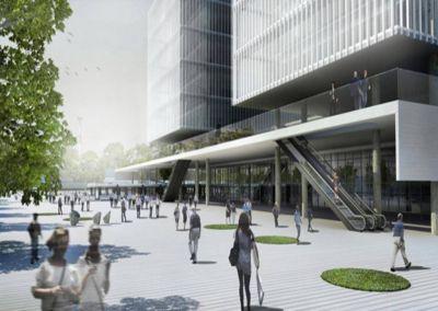 Ciudad Judicial: Arquitectos piden que se respete el proyecto elegido por concurso