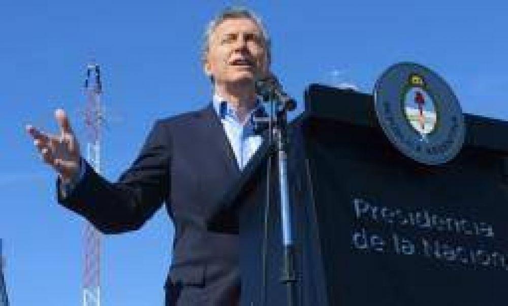 Este miércoles Mauricio Macri desembarca en Nonogasta