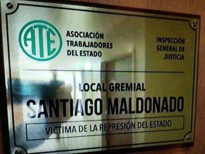 """Polémico: ATE calificó a Santiago Maldonado como """"víctima de la represión del Estado"""""""