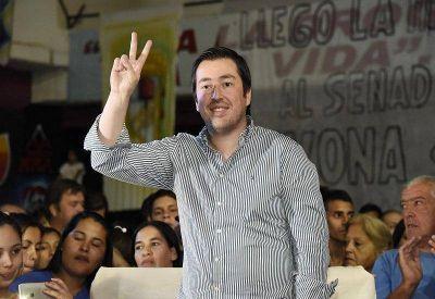 Nardini ratificó su apoyo a Menéndez en la interna del PJ