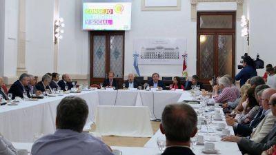 Lifschitz presentó el presupuesto 2018 ante el Consejo Económico y Social
