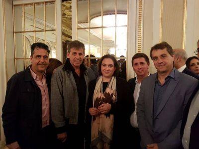 Jatón participó de un congreso internacional en Barcelona