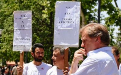 El intendente de Luján decretó la paralización de una Central Termoeléctrica