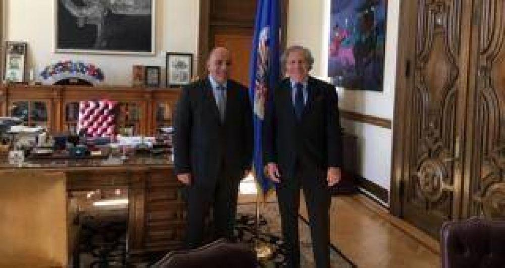 Manzur se reunió con el Secretario General de la OEA en Washington