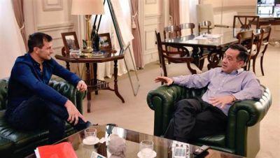 Bali Bucca se reunió con el ministro Finochiaro