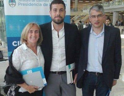 Puglelli y Mayol participaron del lanzamiento del programa Argentina 2030