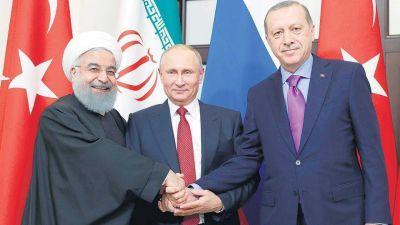Tres países buscan una salida para Siria
