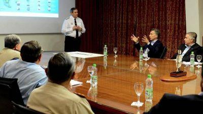 ARA San Juan: Macri se reunió con Aguad en la sede de la Armada