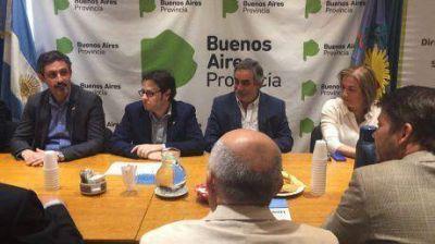 El intendente de Trenque Lauquen firmó convenios de seguridad vial con el gobierno de Buenos Aires