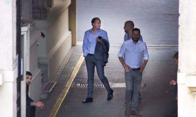 Insaurralde se reunió con Mosca y los intendentes avanzan en la Legislatura