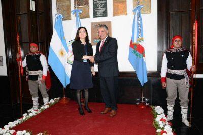 El vicegobernador Bosetti recibirá este viernes a la embajadora de Turquia