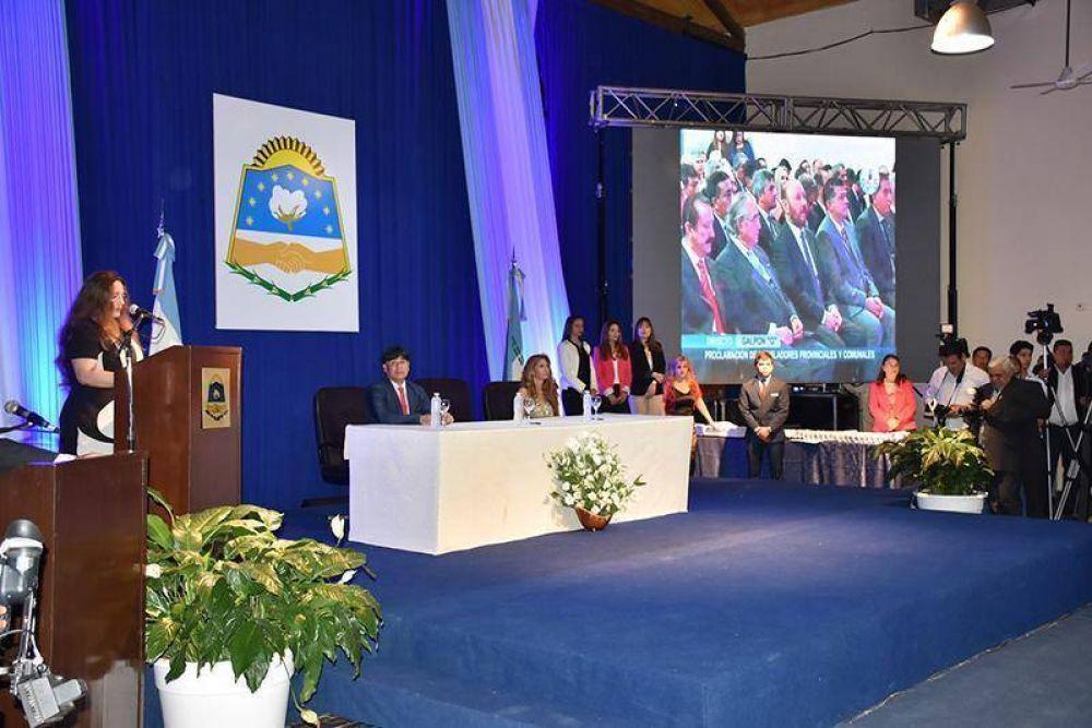 Proclamaron a los parlamentarios provinciales y comunales electos en comicios del 22 de octubre
