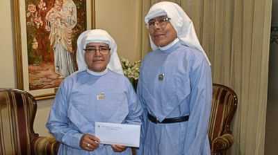 La Gobernadora brindó ayuda a la parroquia de San José del Boquerón