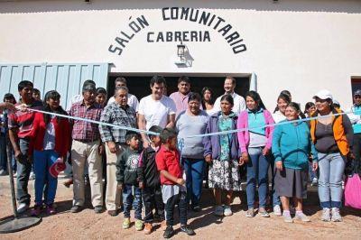 El gobernador inauguró un nuevo SUM en Luracatao