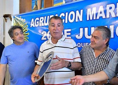 Rubén Manno celebró el Día del Marino Mercante en Necochea