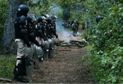 Qué dijo el Ministerio de Seguridad sobre la represión en Villa Mascardi