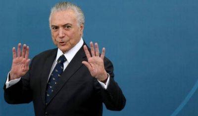 Paro nacional en Brasil en contra de la reforma previsional
