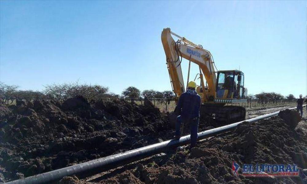 Colombi inaugura múltiples obras en Curuzú, Esquina y Pueblo Libertador