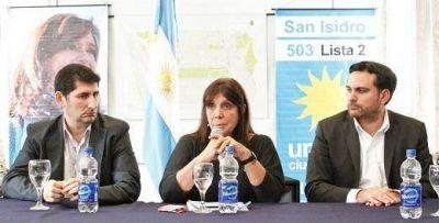 """Teresa García sobre la interna del PJ de San Isidro: """"El partido no debe ser una reunión de dirigentes alejados de la comunidad"""""""