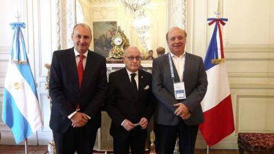 Cancillería Argentina presenció multiples actividades internacionales
