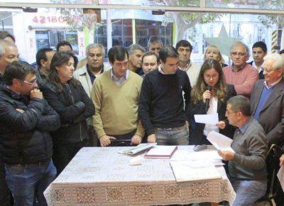 Tras la jugada para sacarla de la presidencia del bloquismo, Caselles no descartó repetir