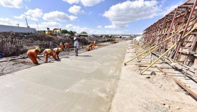 Vecinos de Ringuelet amenazan con tomar el obrador y paralizar las obras del Arroyo El Gato