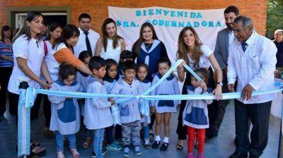 Claudia de Zamora dejó habilitado el Jardín de Infantes Nº 421