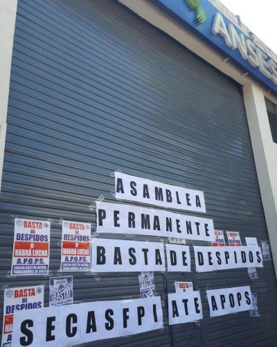 La UDAI Anses de Munro, amaneció cerrada en protesta por despido de trabajadores