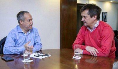 Adicciones: Altolaguirre se reunió con Moro