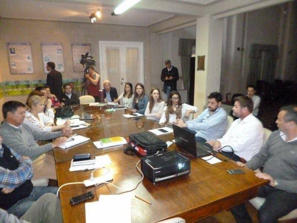 Serrano presentó un Proyecto de Ordenanza Fiscal Impositiva en el HCD