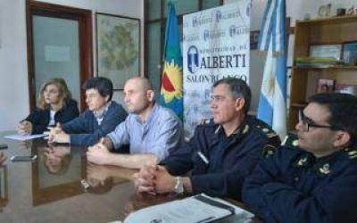 Intendente de Alberti dijo que no enviará policías comunales al Operativo Sol 2018