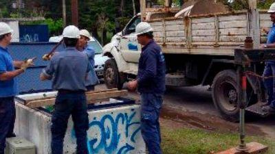 Problemas en el suministro de agua por obras