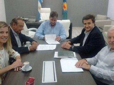Provincia financiará obra de asfalto en Claromecó