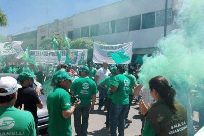 Decenas de trabajadores de la empresa Cidegas de Olavarría no cobran sus sueldos hace 90 días
