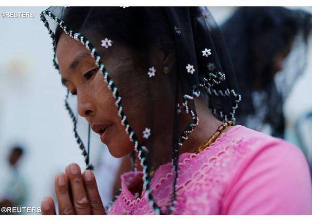 Jesús es la sabiduría de Dios en persona, dijo el Papa en la misa en Yangon, Myanmar