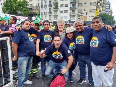 Los municipales de Vicente López presentes en la marcha contra la reforma laboral