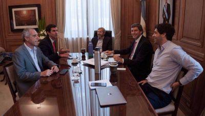 Urtubey informó a Frigerio sobre el Pacto Fiscal en Salta