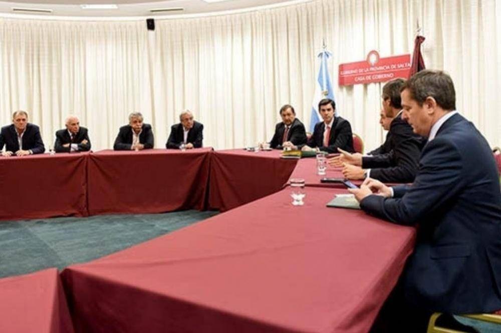 Reunidos con Urtubey, ministros acordaron enviar el presupuesto 2018 a la Legislatura la semana que viene