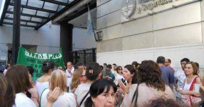"""Trabajadores de Osplad """"celebran"""" 7 años sin reconocimiento oficial"""