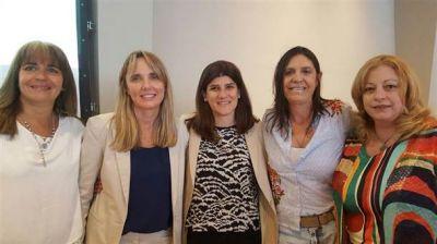 Varias políticas bolivarenses participaron de un encuentro con la gobernadora Vidal y con Gladys González