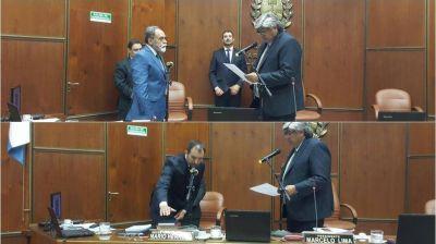 Asumieron los diputados que remplazan a López y a Uñac