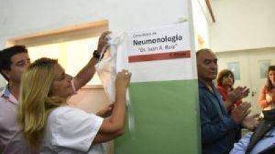 El Hospital Municipal Ferreyra tiene un nuevo servicio de Neumonología