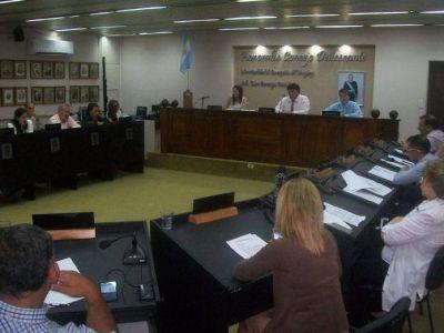El Concejo aprobó el Presupuesto para el 2018